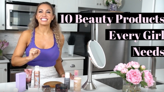 beauty products every girl needs